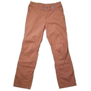 SHERPA Adventure Gear Orange Hiking Pants, 10 Reg